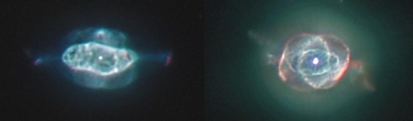 NGC 2392, le clown se dilate