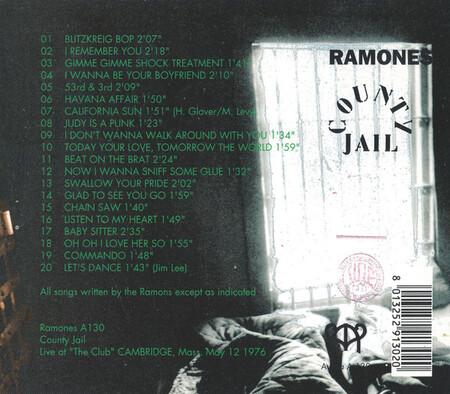 Le Choix des Lecteurs # 181: Ramones - Cambridge - 12 Mai 1976