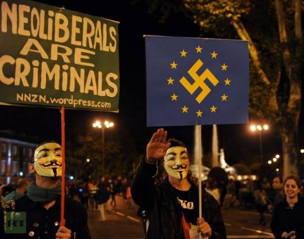 - Le vrai projet de l'Union Européenne : austérité à perpétuité, chaos social et fascisme