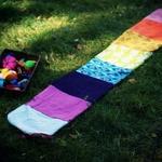 DIY - Tuto : Le tapis des couleurs