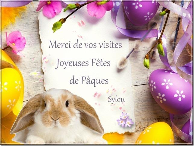 Joyeuses Pàques avec notre amie Sylou !