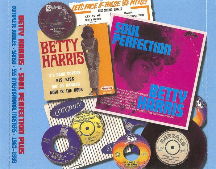 "Betty Harris : CD "" Soul Perfection Plus (1963-69) "" WestSide Records WESA 807 [ UK ]"