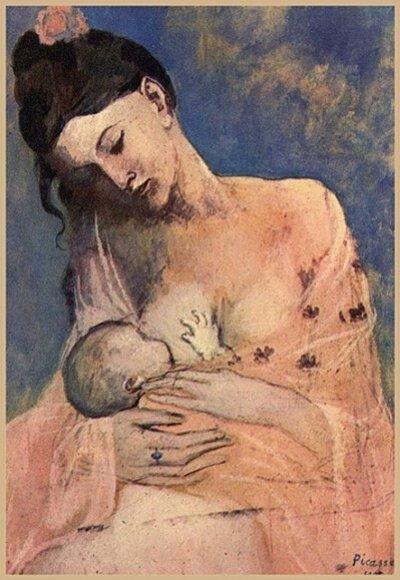 Mardi - Le nourrisson dans l'art (3)