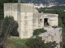 Etape n° 10 - 23-24 Août 1944 - Reddition du Fort Sainte Marguerite aux Marousins du B.M. 21
