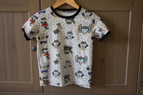 Mylène - Couture : T-shirt garçon