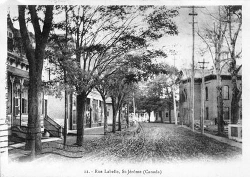 Saint-Jérôme en 1905