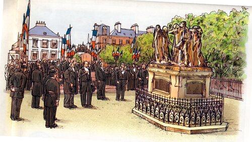 Rodin et les Six Bourgeois