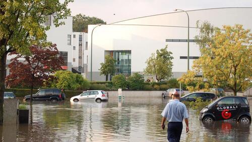 Woluwe-St-Lambert veut des aides pour les bassins d'orage privés