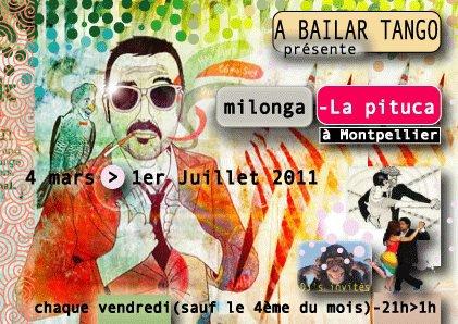 LA PITUCA nouvelle milonga à Montpellier (presque) tous les vendredis