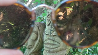 Au travers des lunettes...