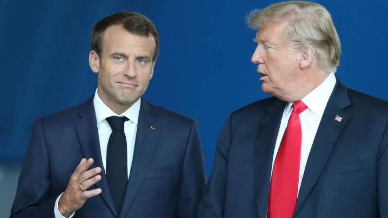 L'Elysée réagit au tweet de Trump sur Macron, en évoquant une incompréhension