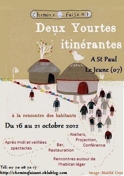 Rencontres à St Paul Le Jeune du 16 au 21 octobre 2012