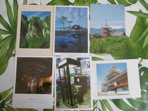 Echange cartes postales avec Françoise