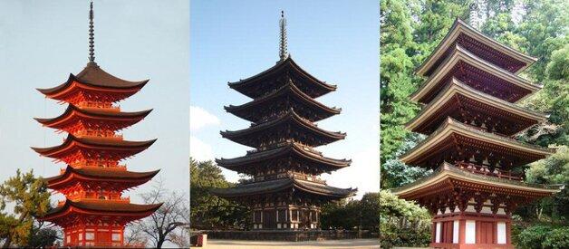 De bien jolies pagodes
