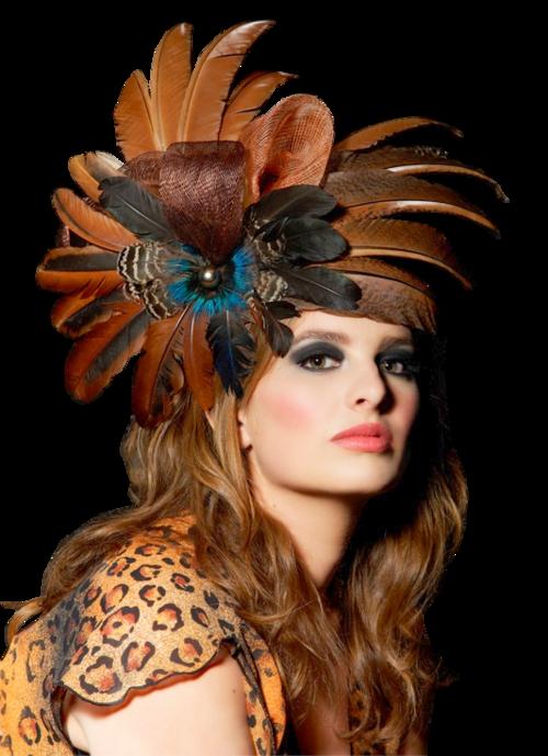 Tubes Femmes aux Chapeaux Glamour