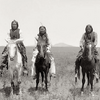 Frank Moetah and two other Comanche men 1891 Photo by Hutchens & Lanney. Source National Anthropolog