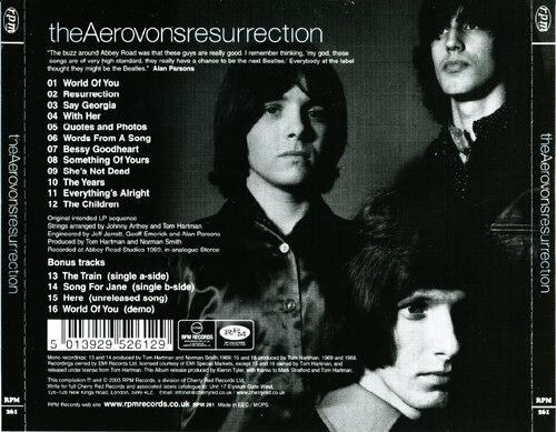 Chefs d'oeuvre oubliés # 20:  The Aerovons - Resurrection (1969)