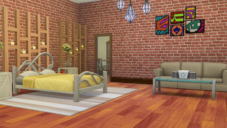 Sims 4 Aménagement de la Villa Pomme-Cannelle