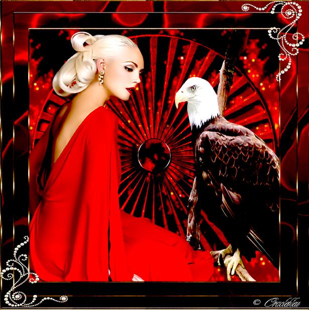 Femme  faucon
