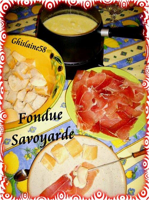 Fondue Savoyarde