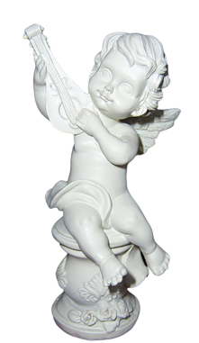 Anges statuettes