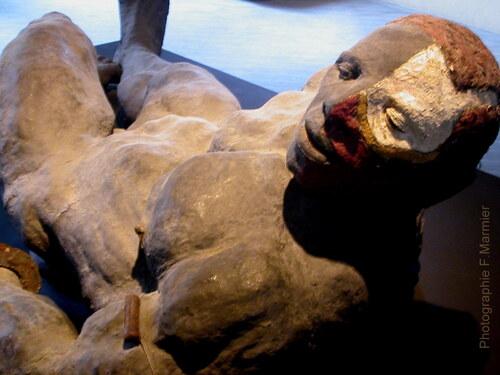 Le sculpteur Ousmane Sow entre à l'Académie des Beaux-Arts
