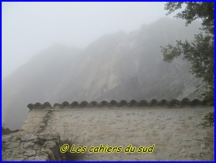 Ste Victoire, le refuge Baudino
