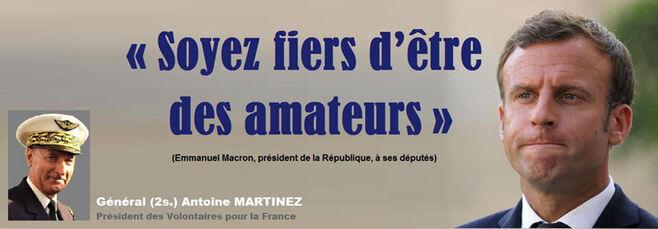 Soyez fiers d'être des amateurs - par Antoine MARTINEZ