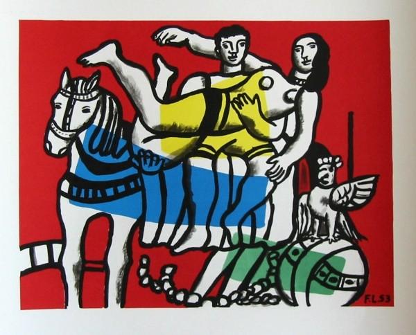 Le cirque, Fernand Léger
