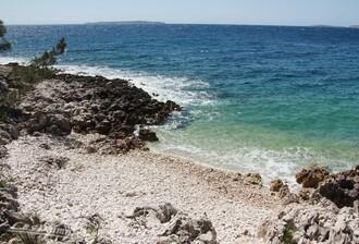Losinj, sur l'île de Cres