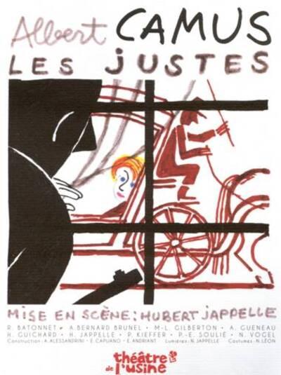 Les justes d'Albert Camus - Théâtre de l'Usine, Eragny-sur-Oise