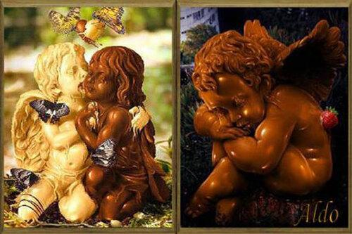 PPS Sculptures en chocolat