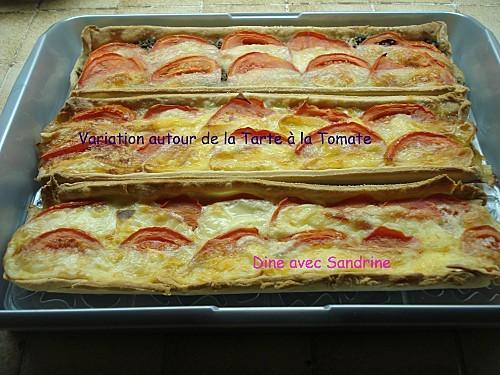 Variation autour de la Tarte à la Tomate 11