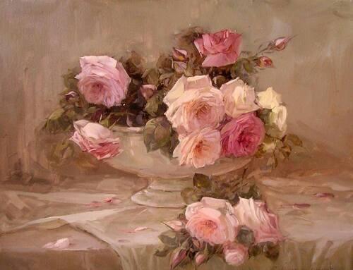 Le parfum des roses d'antan