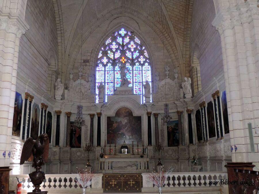 l'abbaye Saint-Etienne de Bassac dept (16)