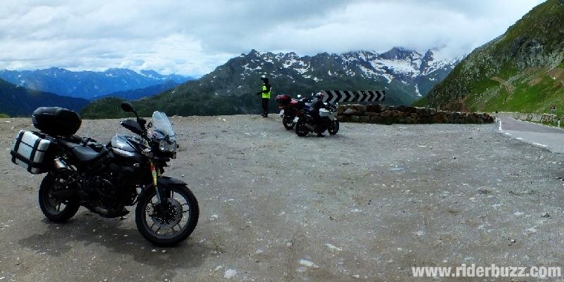 moto le Tyrol Autrichien
