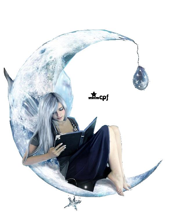Tube fée sur lune