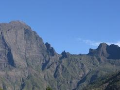 Le cirque de Cilaos, île de la Réunion