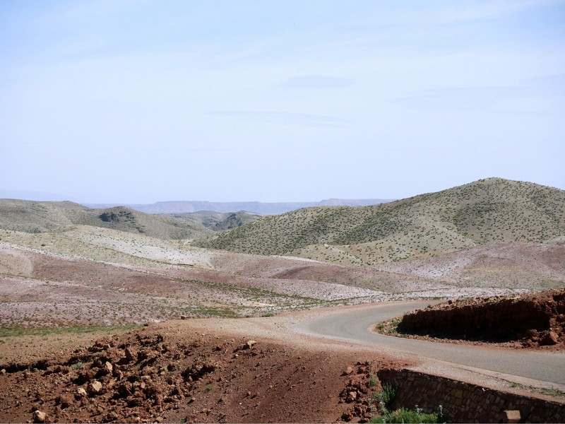 Anciennes mines d'Aouli