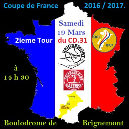 2 ième tour contre le Club Cazères.