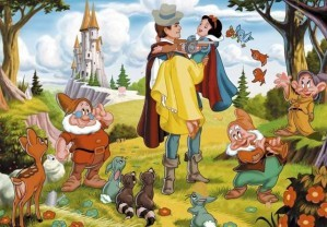 Hidden objects - Snow white