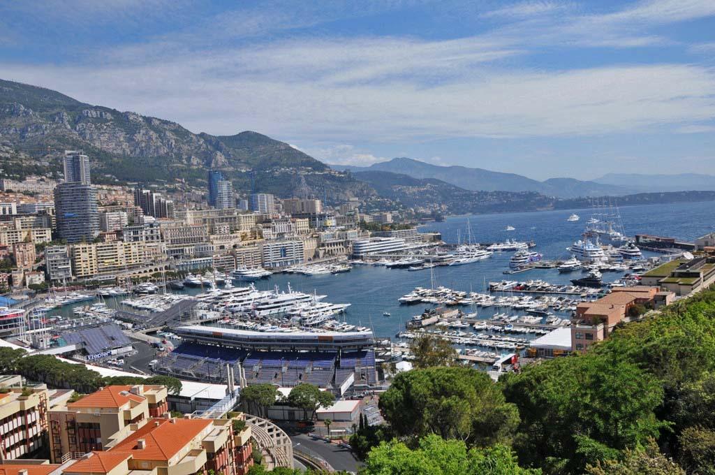 "Vues sur le circuit di ""grand prix de F1...Monaco"