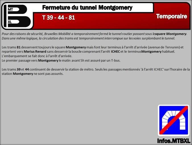 Wolu1200 : Tunnel Montgomery: voici les mesures prises pour améliorer la circulation en surface