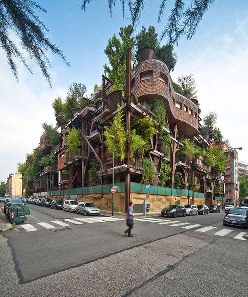 Cette cabane urbaine protège du bruit et de la pollution