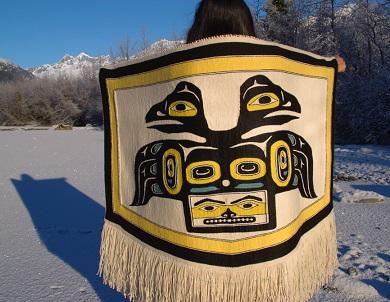 Le tissage de chilkat, art ancestral du sud-est de l'Alaska ...