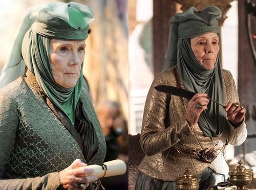 Lady Olenna,  la dame caméléon