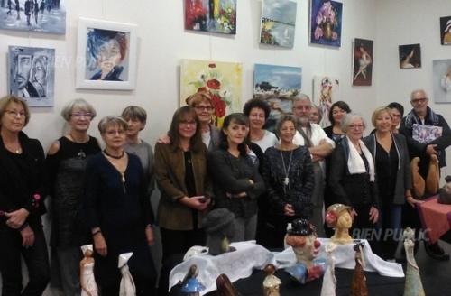 Nov 2015 - Expo avec Les Chevalets Roburiens à Rouvres-en-Plaine (21)