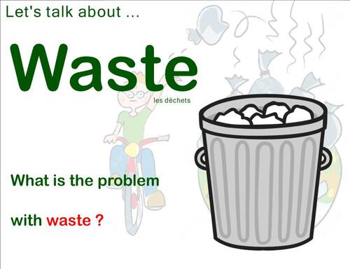 CE2SC - The problem with waste !