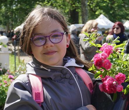la fête de la rose à l'Abbaye de Chaalis