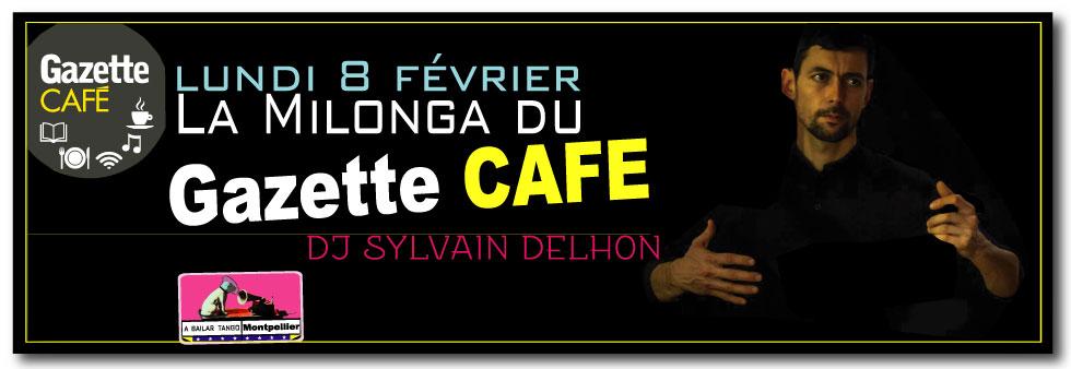 La Milonga du Gazette CAFÉ, milonga gratuite sera proposée un lundi par mois // LUNDI : 8 février, 7 Mars, 11 avril, 2 mai, 6 juin /
